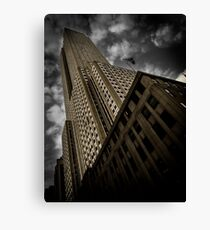 In The Streets Of New York City | NYC, New York, Manhattan, Empire State Building Canvas Print