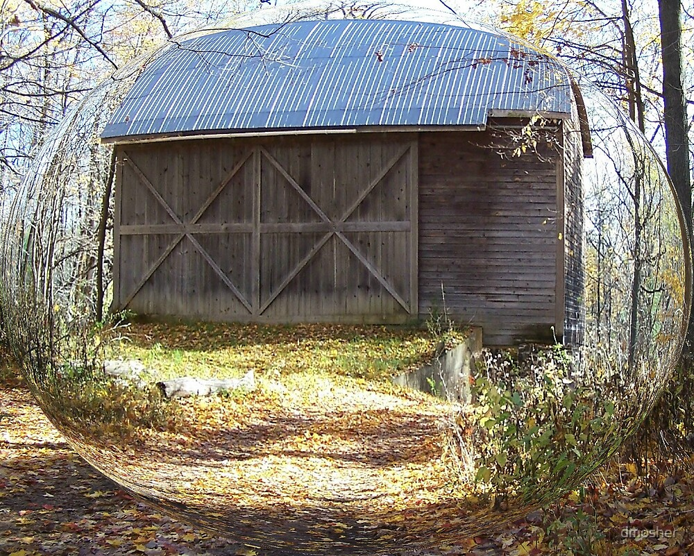 Rustic Barn by dmosher