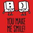 You make me smile by LaundryFactory