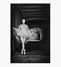 fashion bw film girls art bw Photographic Print
