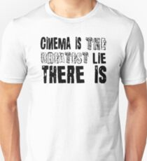 Film Moives Cinema Cool Quotes Movie Buff Retro T-Shirts Unisex T-Shirt