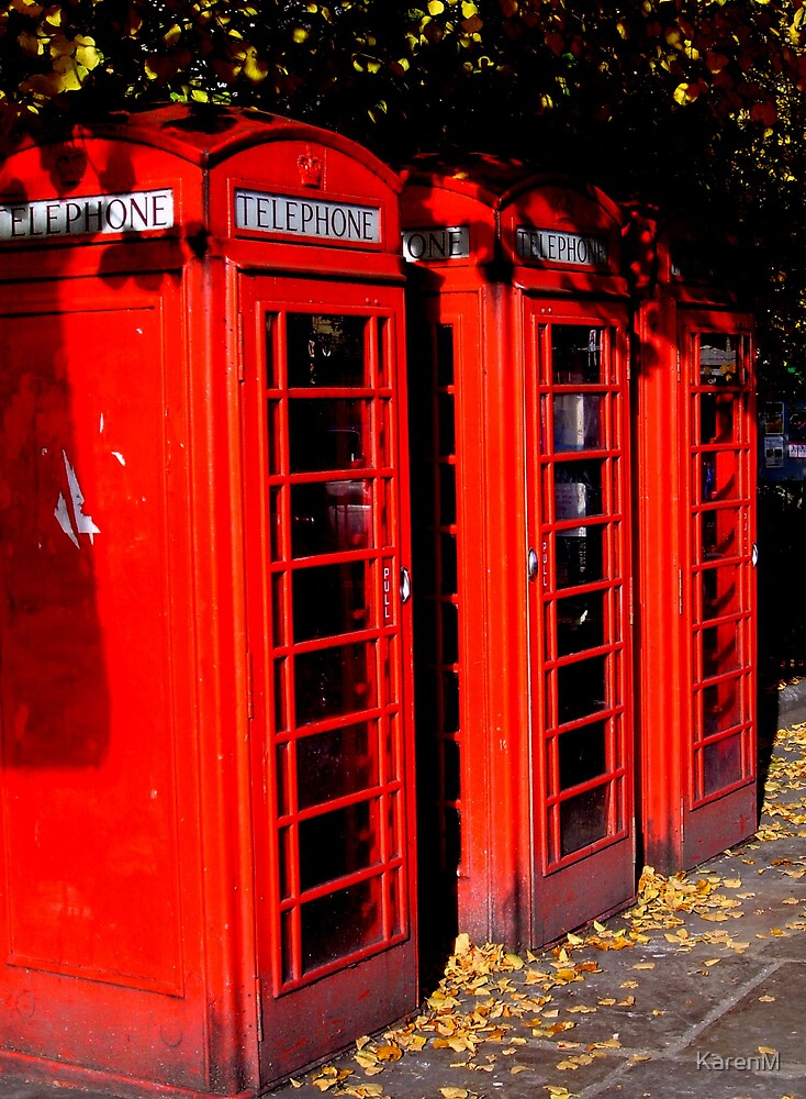 Red Boxes by KarenM