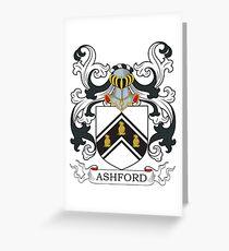 Ashford Coat of Arms Greeting Card