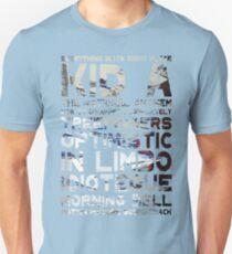 Radiohead - Kid A Album Song List T-Shirt #1 T-Shirt
