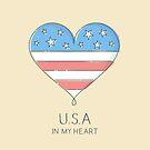 USA in my heart by zoljo
