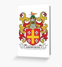 Ashworth Coat of Arms Greeting Card