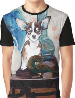 Dogs Life serie - Mister Chihuahua Graphic T-Shirt