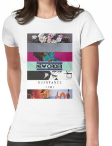 New Order - Albums Womens Fitted T-Shirt