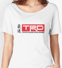 Toyota Racing Developments JDM Classic Women's Relaxed Fit T-Shirt