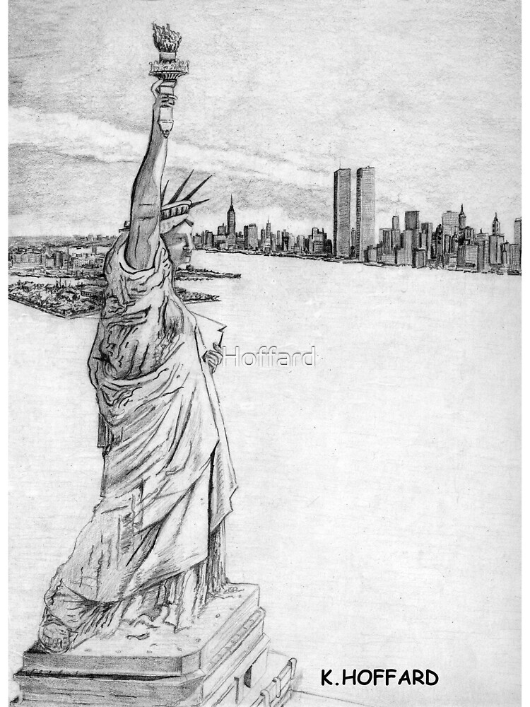 """""""The Statue of Liberty""""  by Hoffard"""