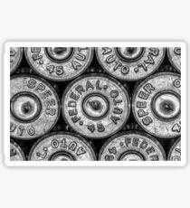 45 Brass #1 (Black & White) Sticker