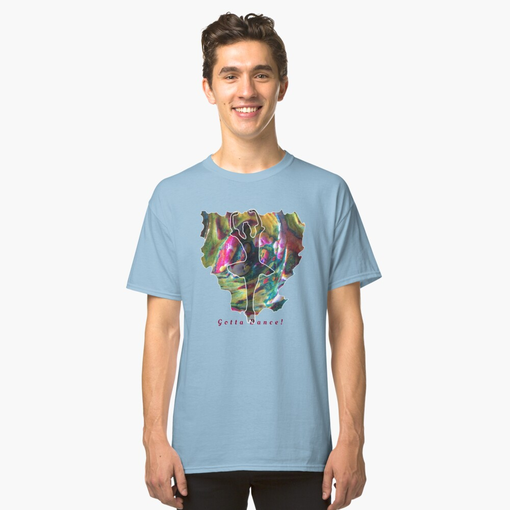 JUST DANCE COLOURFUL BALLERINA Classic T-Shirt