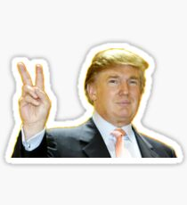 Peace Is Yuge Sticker
