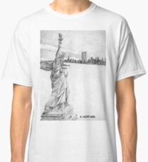 """""""The Statue of Liberty""""  Classic T-Shirt"""