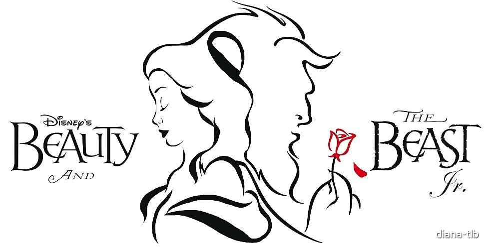 Beauty And The Beast Lines By Diana Tlb Redbubble