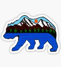 The Happy Camper Sticker