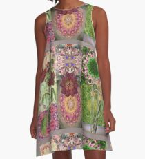 mosiac A-Line Dress
