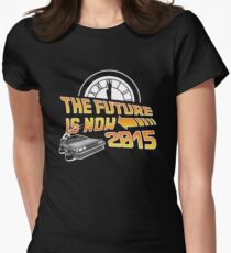 The Future is Now (Back to the Future) Women's Fitted T-Shirt