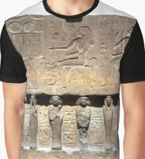 Bas-relief Graphic T-Shirt