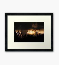 The Nothing Framed Print