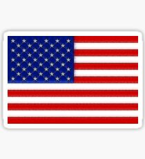 Fancy Flag USA United States Sticker