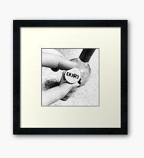 Enjoy the Wine Framed Print