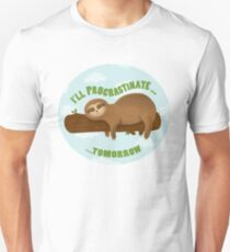 Lazy sloth  T-Shirt