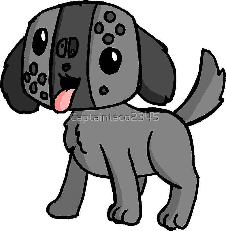 Quot Nintendo Switch Dog Quot Stickers By Captaintaco2345 Redbubble