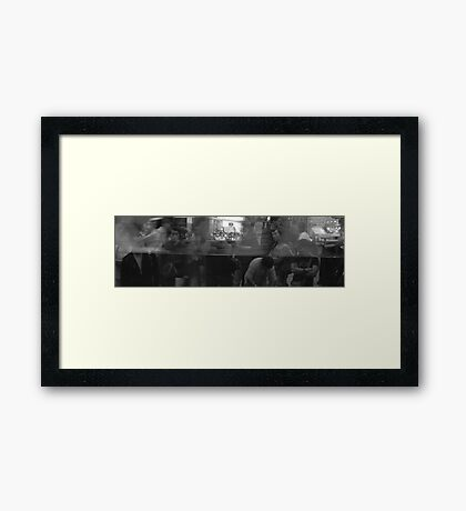 Reflection v.1 Framed Print