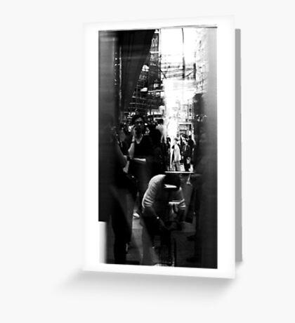 Reflection v.2 Greeting Card