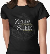 Zelda on the Streets Womens Fitted T-Shirt