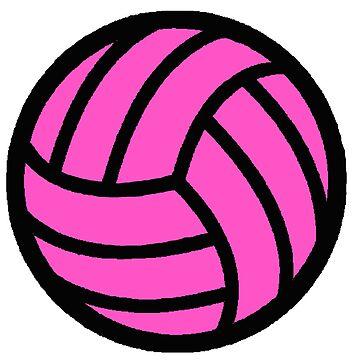 Voleibol rosado de AllisonKe