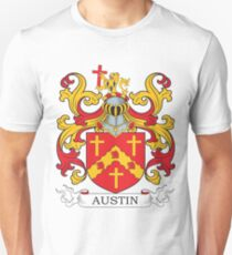 Austin Coat of Arms Unisex T-Shirt