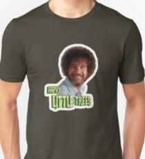 Bob Ross No Mistake Just Happy Little Trees Painter Design T-Shirt