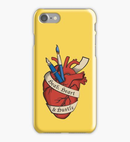 Head, Heart & Hustle iPhone Case/Skin