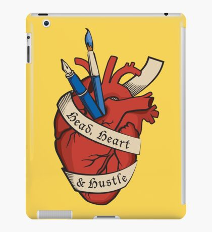 Head, Heart & Hustle iPad Case/Skin