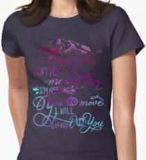 Trust in you - Lauren Daigle - trust God faith Christian Womens Fitted T-Shirt