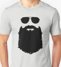Beard glasses Unisex T-Shirt