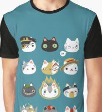 Cosplay cats Graphic T-Shirt