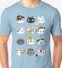 Cosplay cats Unisex T-Shirt