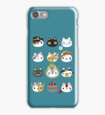 Cosplay cats iPhone Case/Skin