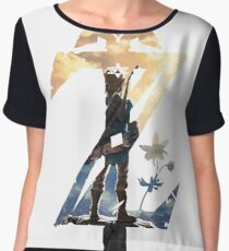 Breath Of The Wild Z Link Cover Chiffon Top