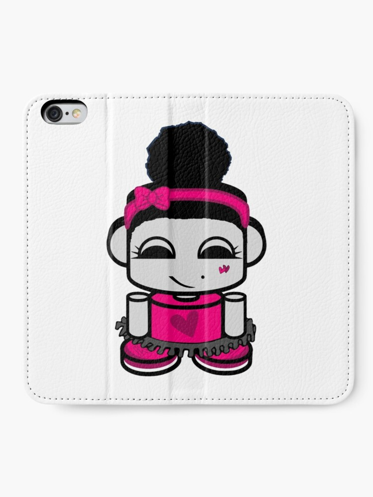 Alternate view of Aspen Ballerina O'BOT Toy Robot 1.0 iPhone Wallet