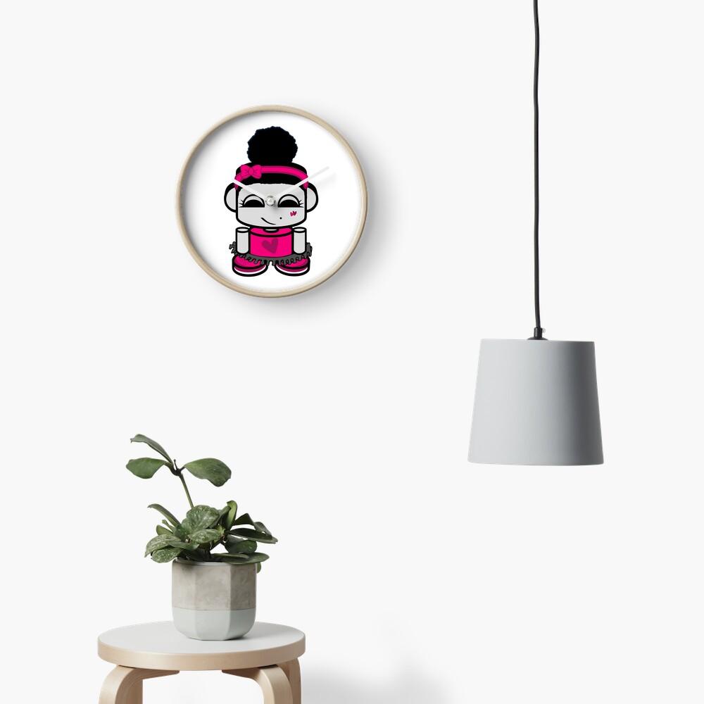 Aspen Ballerina O'BOT Toy Robot 1.0 Clock
