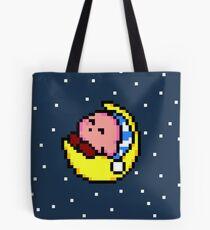 Sleepy Kirby - Pixel Art  Tote Bag