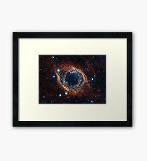 Eye of the Universe Framed Print