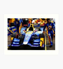 Indycar St Pete 15 Art Print