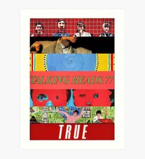 Talking Heads - Albums Art Print