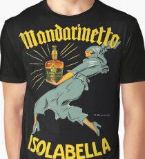 """Marcello Dudovich Art Deco Illustration """"Isolabella""""  Graphic T-Shirt"""