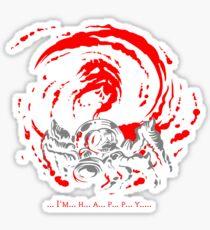 ... I'm... H... A... P... P... Y... Giygas Tee Sticker